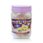 聰明虎DHA魚油+綜合水果QQ軟糖(120g)